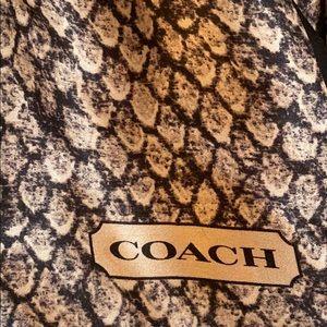 Coach Square Silk Scarf